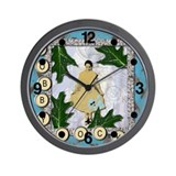 Bobby Socks 1950's Collage Wall Clock