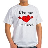 Kiss Me I'm Czech T-Shirt