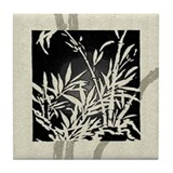 Black Bamboo Tile Coaster