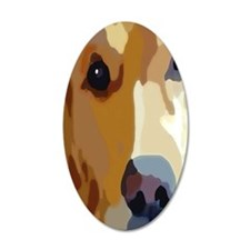 golden retriever Wall Decal