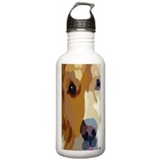 golden retriever Water Bottle
