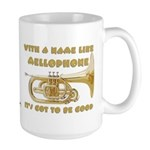 With a Name Like Mellophone Large Mug