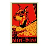 Min Pin Mania 2004! 8 postcards