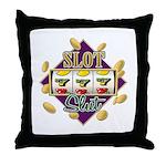 Slot Slut Throw Pillow