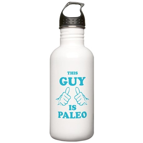 This Guy is Paleo Stainless Water Bottle 1.0L