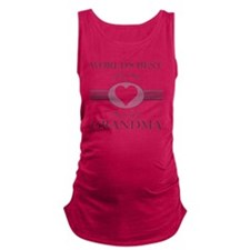 Worlds Best Grandma Maternity Tank Top
