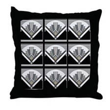 Mouse Pad Art Deco Geo Throw Pillow