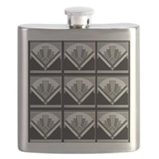 Mouse Pad Art Deco Geo Flask