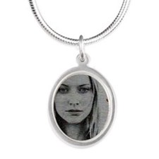 Etta Resist Silver Oval Necklace