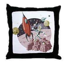 Spaceman2 Throw Pillow