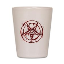 Bloody Baphomet Shot Glass