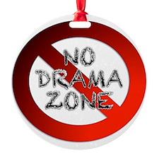 No Drama Zone Ornament