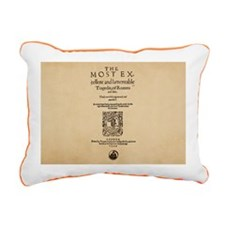 romeoandjuliet-1599-post Rectangular Canvas Pillow
