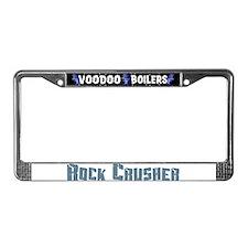 Rock Crusher License Plate Frame
