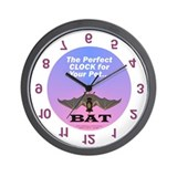 Cute Bat Wall Clock