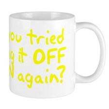 Have you tried turning it OFF and ON ag Mug