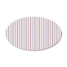 pillowcase Aiyana all stripe 35x21 Oval Wall Decal
