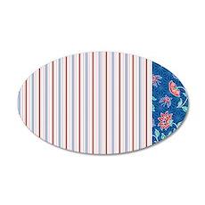 pillowcase Aiyana stripe 2 35x21 Oval Wall Decal