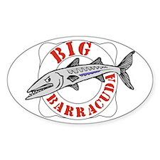 Big Barracuda Decal