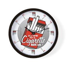 Cute Cigarettes Wall Clock