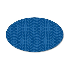 pillowcase Aiyana hexagon 35x21 Oval Wall Decal