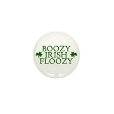 BOOZY IRISH FLOOZY Mini Button (10 pack)