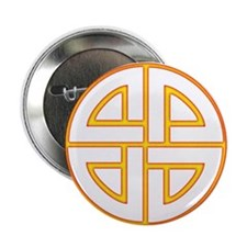 "Flaming Shield Knot 2.25"" Button (10 pack)"