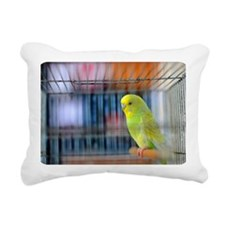 Parakeet Rectangular Canvas Pillow
