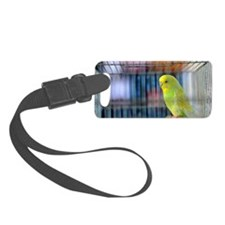 Parakeet Luggage Tag