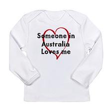 Loves me: Australia Long Sleeve T-Shirt