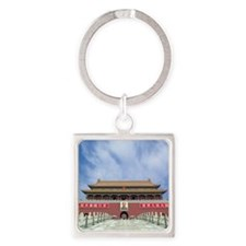 China, Beijing, Tiananmen Gate Square Keychain