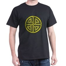 Yellow Neon Shield Knot T-Shirt