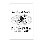 Black Widow Mini Poster Print