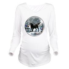 Flat-Coated Retrieve Long Sleeve Maternity T-Shirt