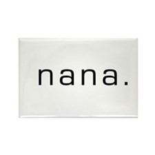 Nana Rectangle Magnet