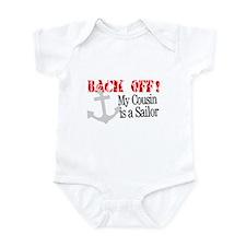 Back Off!-My Cousin is a Sailor Infant Bodysuit