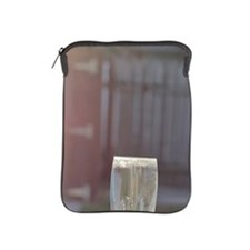 Fluted glass and Adirondack chair iPad Sleeve