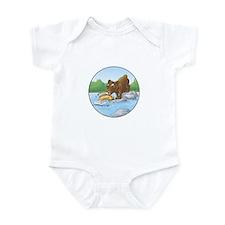 Buster's 'gone fishing' Infant Bodysuit