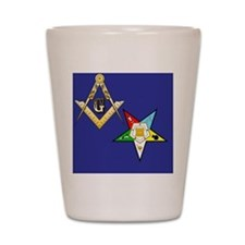 Masonic / Eastern Star Shot Glass