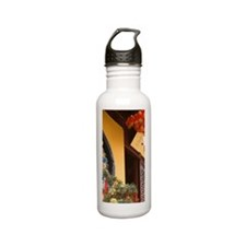 Buddha Temple, Shangha Stainless Steel Water Bottle