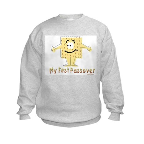 My First Passover Kids Sweatshirt