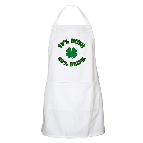10% Irish #2 BBQ Apron