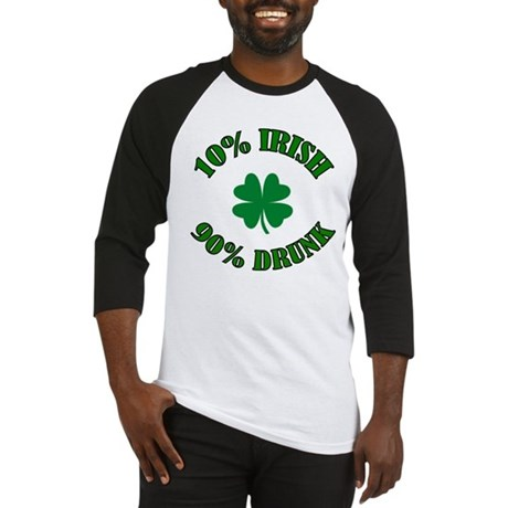 10% Irish #2 Baseball Jersey