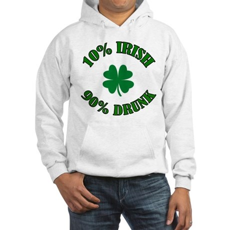 10% Irish #2 Hooded Sweatshirt