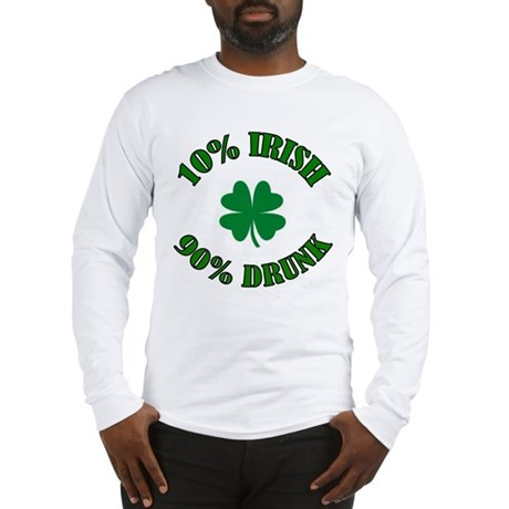 10% Irish #2 Long Sleeve T-Shirt
