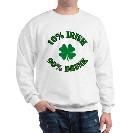10% Irish #2 Sweatshirt