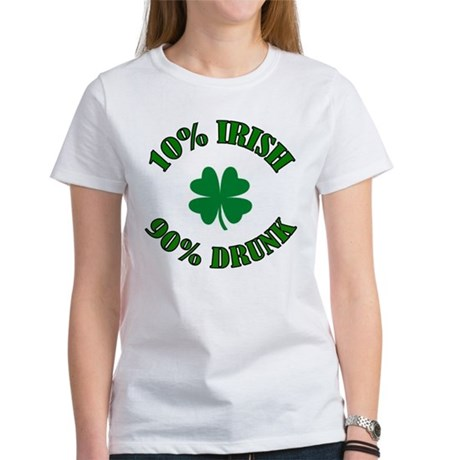 10% Irish #2 Women's T-Shirt