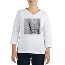 Elephant tail. Women's Long Sleeve Shirt (3/4 Sleeve)