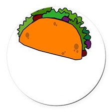 Hate Tacos Juan Round Car Magnet