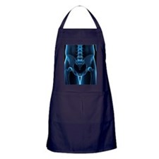 Pelvis bones, artwork Apron (dark)